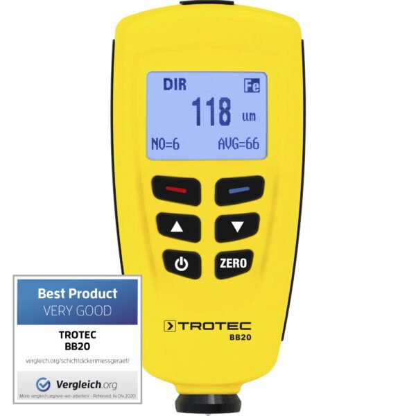 BB20 Coating Thickness Meter