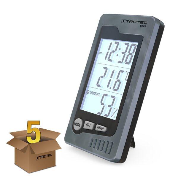 BZ05 Indoor Thermohygrometer, Pack of 5
