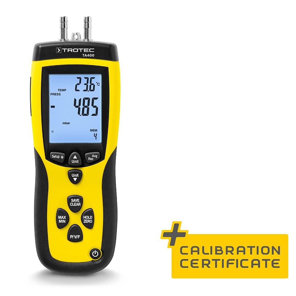 Eco Industries TA400 Dynamic pressure anemometer, incl. Cal. Certificate (1)