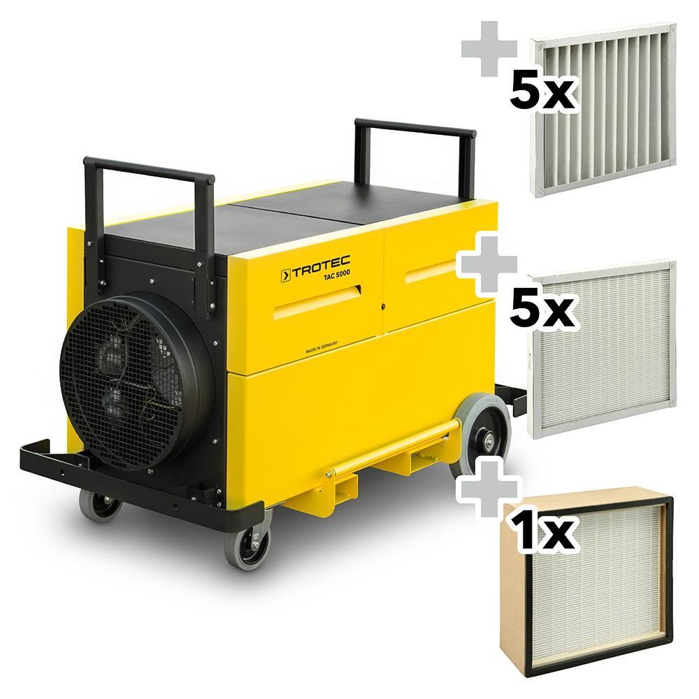 EcoIndustries Air Purifier TAC 5000 Dust Protection Set (1)
