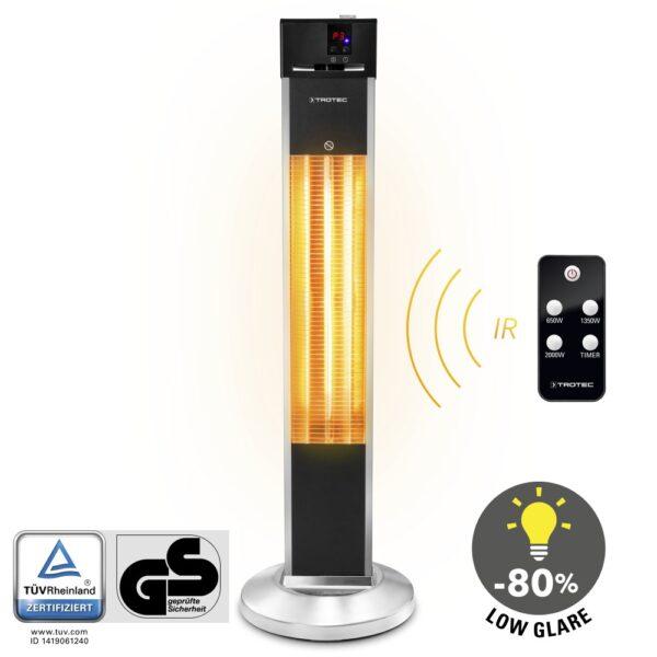 Design Patio Infrared Heaters IRS 2000 E