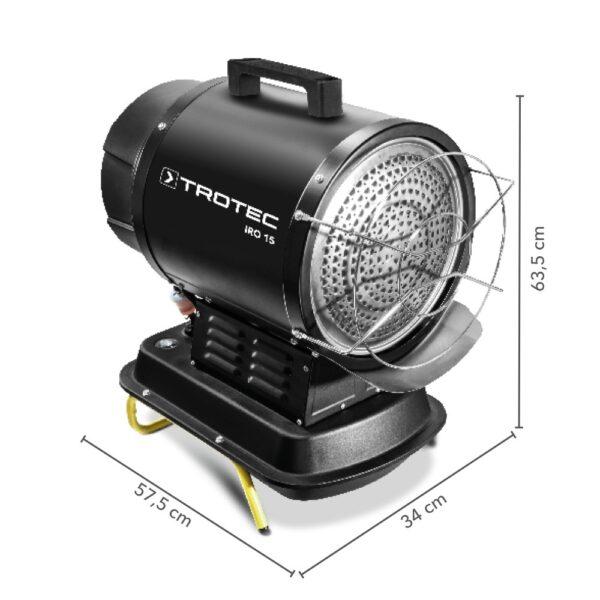 Infrared oil heater IRO 15