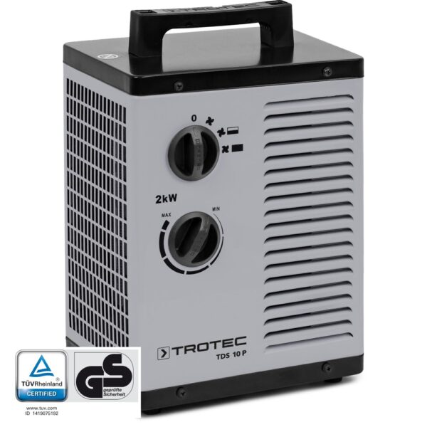 TDS 10 P Ceramic Fan Heater