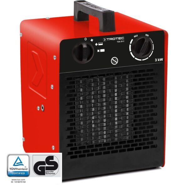 TDS 20 C Ceramic Fan Heater