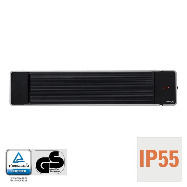 Tinted infrared heater IRD 1200