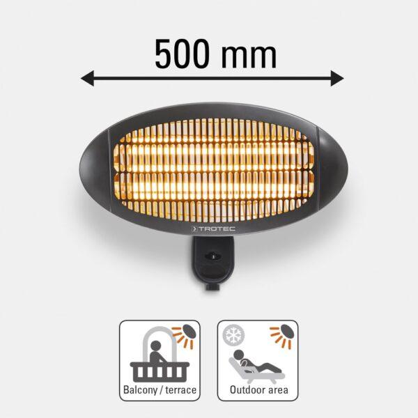 Infrared Radiant Heater IR 2000 S