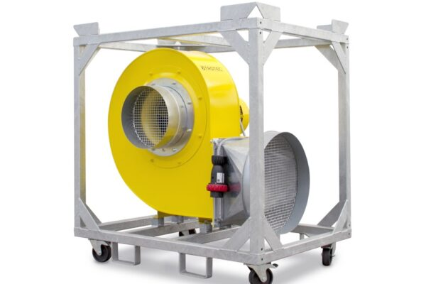 Eco Industries TFV 300 Radial Fan (1)